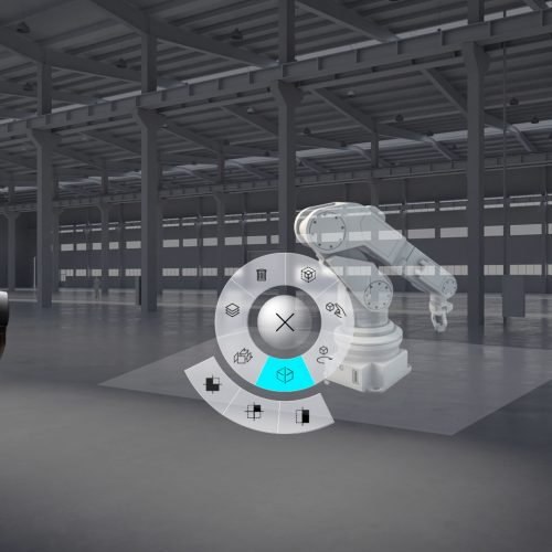 Mixed Reality in Industry 4.0, planning with a 3D model
